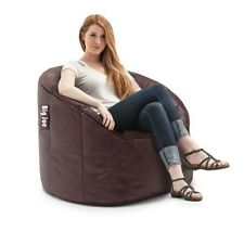 Bean Bag Chair Faux Leather Kids Adult Comfortable Seating Living Room Furniture