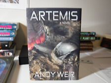 SIGNED Subterranean Press Limited Artemis by Andy Weir (2017, Hardcover)