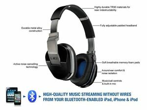 NEW Logitech UE 9000 Bluetooth Wireless Headphone Headset Mic Noise Cancellation