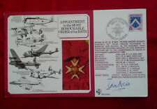 1985 ROYAL AIR FORCE SIGNED FIRST DAY COVER P I A NEIL ORDER OF THE BATH RAF