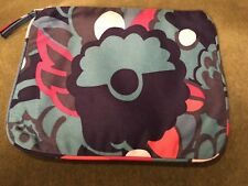 Marc By Marc Jacobs Flower Zipper Make Up Case Cosmetic Bag Clutch