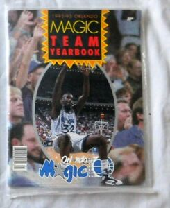 1992-93 Orlando Magic Yearbook Factory Sealed - Shaquille O'Neal