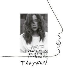 TAEYEON - Something New (3rd Mini Album) CD+Folded Poster+Free Gift+Tracking no.