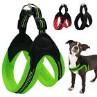 Reflective Mesh Padded Pet Dog Harness with Soft Padded Safety Lock Buckle