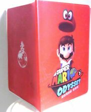 Official Nintendo Switch Super Mario Odyssey Accessory Passport Case & Note Book