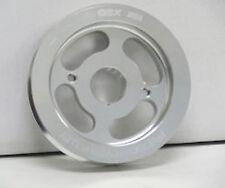 OBX Polish Aluminum Crank Pulley Fits 2004-2009 tC 2008-2015 xB 2.4L 2AZ-FE