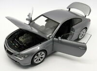 Kyosho 1/18 Scale Die-Cast - 08701S BMW 645Ci Coupe Silver Version