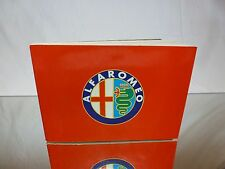 BOOK AUTOMOBILIA - ALFA ROMEO POCKET HISTORY - GOOD CONDITION