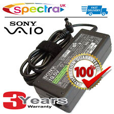 Genuine Original Sony Vaio SVE Laptop Charger AC Adapter Power Supply Cable
