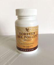 Forever Living Bee Pollen 100% Natural 100 tbls, boost energy,HALAL/KOSHER, 2021