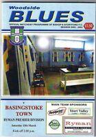 Bishop's Stortford v Basingstoke Town 2002/3 Ryman Premier League
