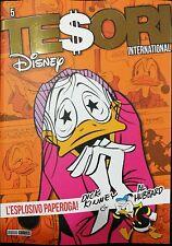 DISNEY - Tesori International N° 5 - L'Esplosivo Paperoga - Panini Comics NUOVO
