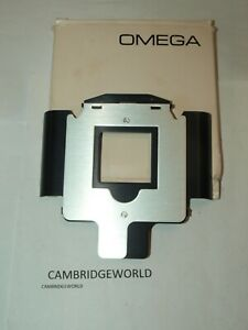 OMEGA 423-123 NEW NEGATIVE CARRIER for MOUNTED 2X2 SLIDE in ORIGINAL FACTORY BOX