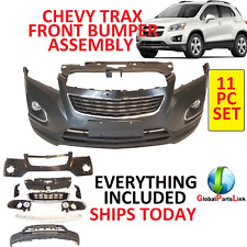 2012 2016  CHEVY TRAX FRONT BUMPER COVER COMPLETE ASSEMBLY UPPER + LOWER