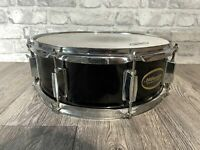 "Millenium Black Wooden Shell Snare Drum 14""x5.5"" 8 Lug #SN709"