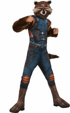 Deluxe Muscle Rocket Raccoon CHILD Costume NEW Guardians of the Galaxy 2 Medium
