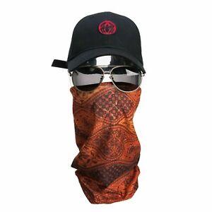 Headwear Face Wrap Tube Seamless Headband Bandana Mask Scarf- Egypt - A2086