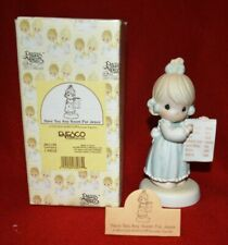 New ListingPrecious Moments Figurine 261130 ln box Have You Any Room For Jesus