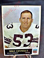 "1965 Philadelphia #45 Mike Connelly COWBOYS "" EX-MT """