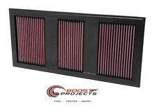 K&N Air Filter 11-16 MERCEDES E350 / SLK350 3.5L / 11-12 GLK350 * 33-2985 *