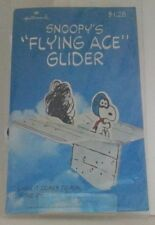 Vintage Peanuts Snoopy Flying Ace Glider Plane New In Pacakage RARE!