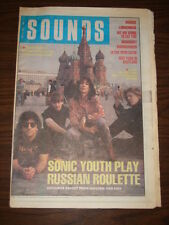 SOUNDS 1989 MAY 13 SONIC YOUTH COSTELLO SOUNDGARDEN