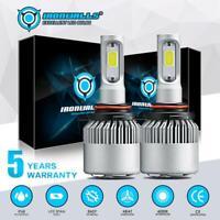 For Ford Edge 2011-2014 Headlight 9012 LED 6000K 300000LM High Low Beam Bulbs