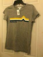 Medium Gray California T-Shirt-Short Sleeve NWT