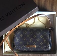 Authentic Louis Vuitton Favorite Pm Bag Monogram Canvas Box Dustbag Receipt