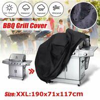190x71x117CM COPERTURA TELO COPRI BARBECUE IMPERMEABILE PROTEZIONE BBQ COVER