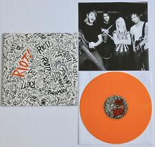 PARAMORE Riot ORANGE VINYL LP (SEALED) hayley williams.my chemical romance.pvris