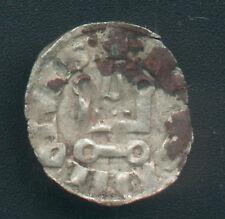 CRUSADERS - DUCHY of ATHENS GUY II de la ROCHE ( 1287 - 1308 ) SILVER DENIER