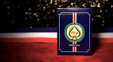 LONDON 2012 GOLD DECK PLAYING CARDS BY BLUE CROWN & USPCC BICYCLE MAGIC TRICKS