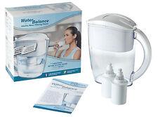 Water Balance Alkaline Water Filtering Pitcher Ionizer pH Balance Water