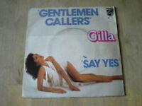 45 tours gilla gentlemen callers