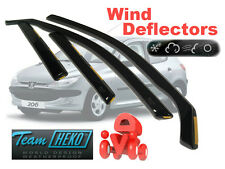PEUGEOT 206  1998 - 2006 HATCHBACK Wind deflectors 4.pc   HEKO  26113