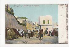 Tangier Purta de la Teneria 1909 Vintage Postcard 139a