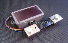 3.5 Digit Digital LED AMP Current Panel Meter (DC 5V) (100A) (Red) (w/SHUNT)