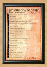 Dalai Lama A To Zen of Life Buddhism Wall Home Decor Photo Poster Picture Print