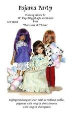 KW18008 Pajama Party pattern for Kaye Wiggs, Layla, Hope & friends, MSD