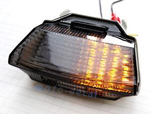 Integrated LED Rear/Tail Light Fit Kawasaki Ninja ZX10R 2011-2015 Turn Signals
