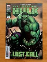 INCREDIBLE HULK LAST CALL #1 Dale Keown Main Cover A 1st Print Marvel 2019 NM+
