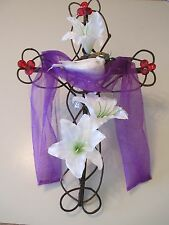 Easter Spring Lilly Dove Cross