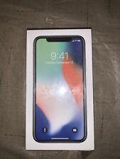 Apple iPhone X - 256GB - Silver (Unlocked) A1865 (CDMA + GSM)