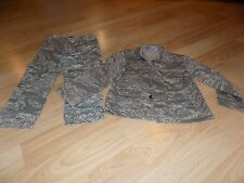 Size 4 Trooper USAF United States Air Force Military Fatigues Costume Digital