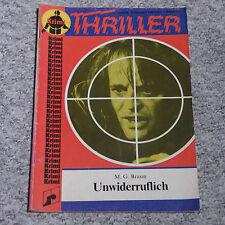 """Romanheft """"Thriller"""" Krimi mit Klaus Kinski auf Titelbild"""