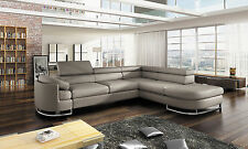 Sofa ICE Schlaffunktion Wohnlandschaft Polsterecke Couchgarnitur Couch Ecksofa