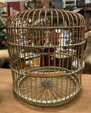 Vinyage Wood / Wicker Bird Cage
