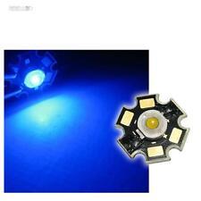 5 x POWER LED Chip STAR Platine 3W BLAU HIGHPOWER BLUE