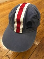 Vintage Tommy Hilfiger Strapback Hat Stripe Crest Cap OSFA Rare Flag VTG 90s
